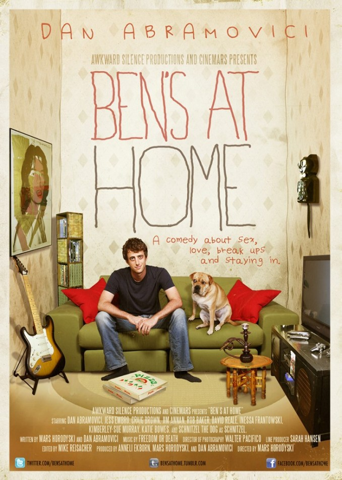 bens at home - poster