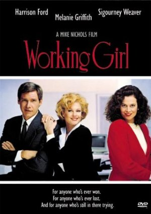 Working Girl poster