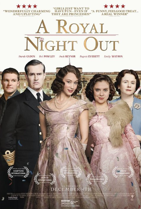 poster for a royal night out