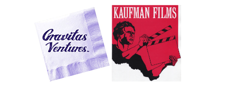 gravitas and kaufman logos