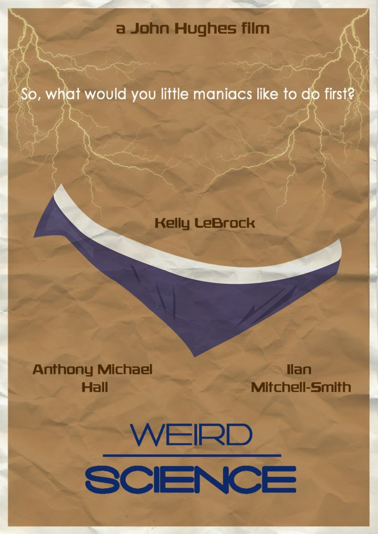 weird science - poster 1