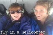 fly in a helicopter
