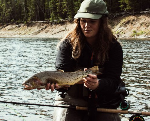 Reel Women Flyfishing Adventures, Yellowstone River, Madison River