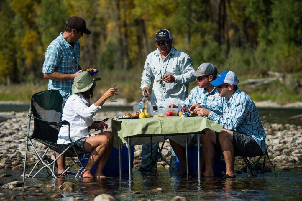 camping on the snake, flyfishing idaho