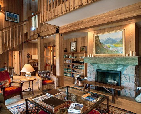 Henrys Fork Lodge Interior