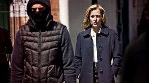 Screenshot from the season one trailer of the Irish thriller drama The Fall, starring Gillian Anderson and Jamie Dornan.