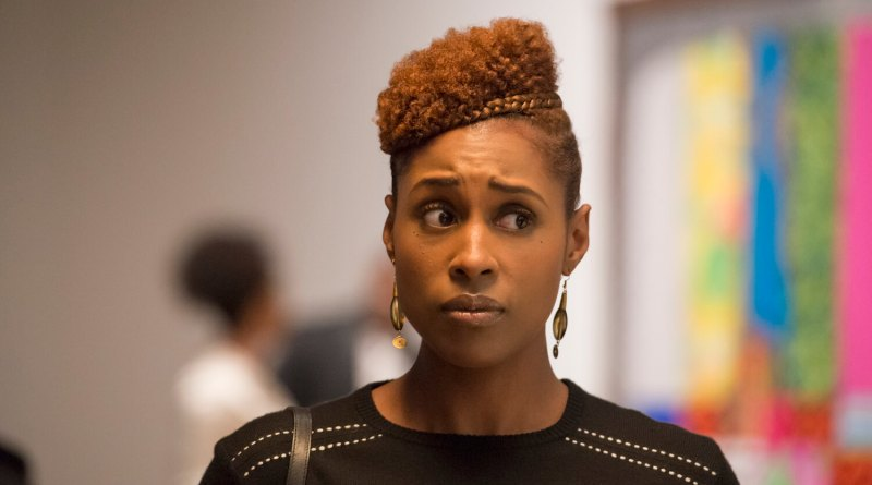 Issa Rae as Issa in a scene from the 2017 HBO dramedy, Insecure.