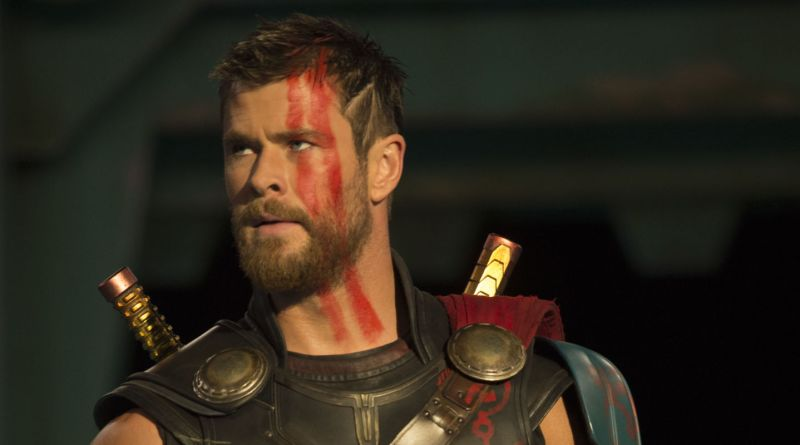 Pictured: Chris Hemsworth as Thor in the 2017 Marvel Disney film by Taika Waititi, Thor: Ragnarok.