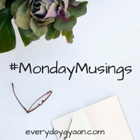 #MondayMusings: Holding on or letting go?