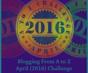 #AtoZChallenge: I'm participating!