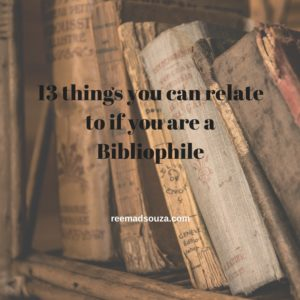10 things you can relate to if you are a Bibliophile