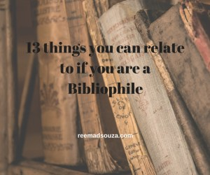 13 things you can relate to if you are a Bibliophile
