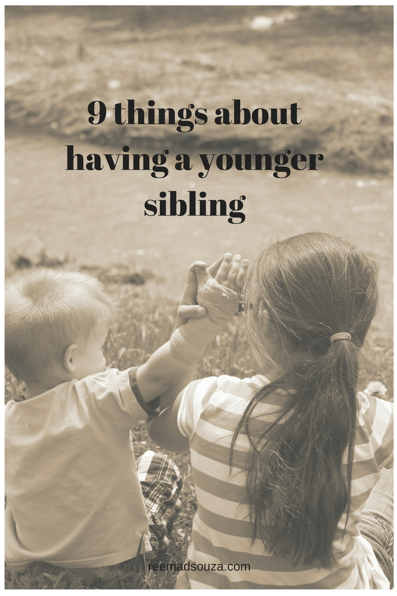 9 things about having a younger sibling