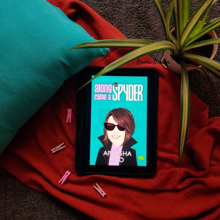A picture of Along came a Spyder by Apeksha Rao