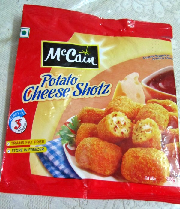 McCain Potato Cheese Shotz | reenamansukhani