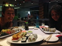 Before we tackle all-you-can-eat sushi at Active Sushi