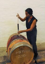 Wine straight outta the barrel!
