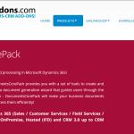 DocumentsCorePack by MSCRM-ADDONS.com