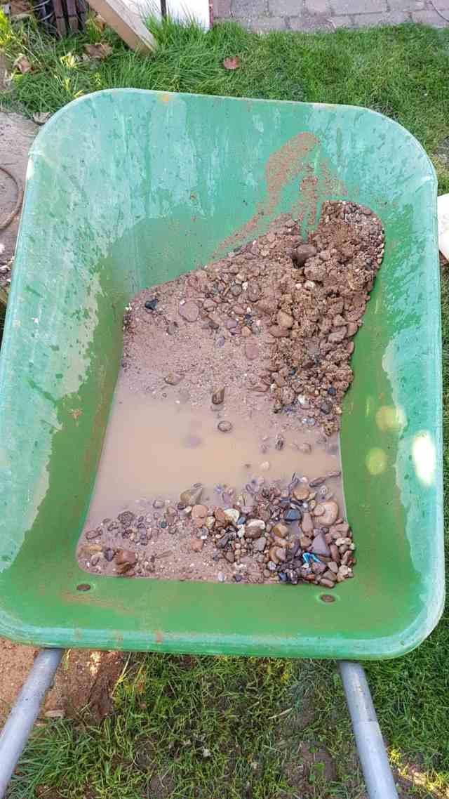 bohrbrunnen brunnen bohrgut