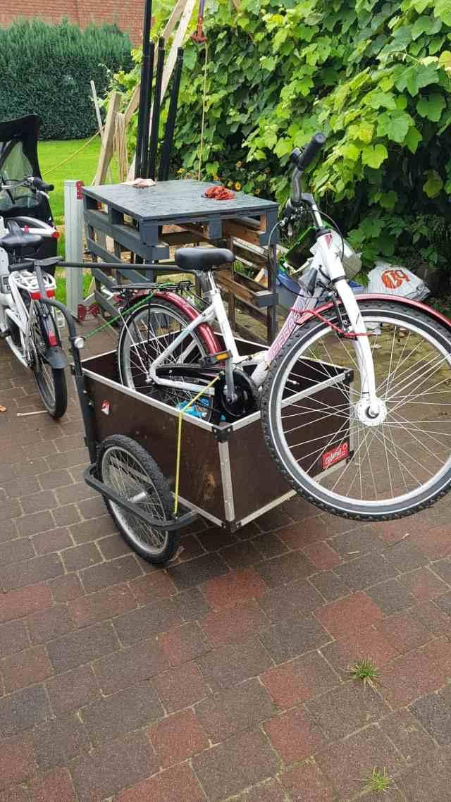 Cargo Challenge fahrrad abschlepper bike tow truck