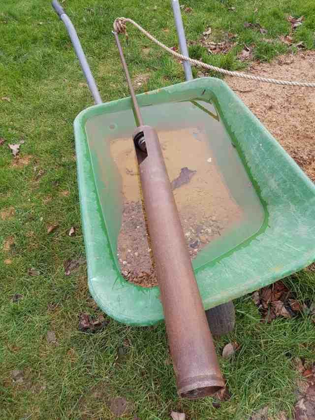Brunnen bohren grundwasser kiespumpe