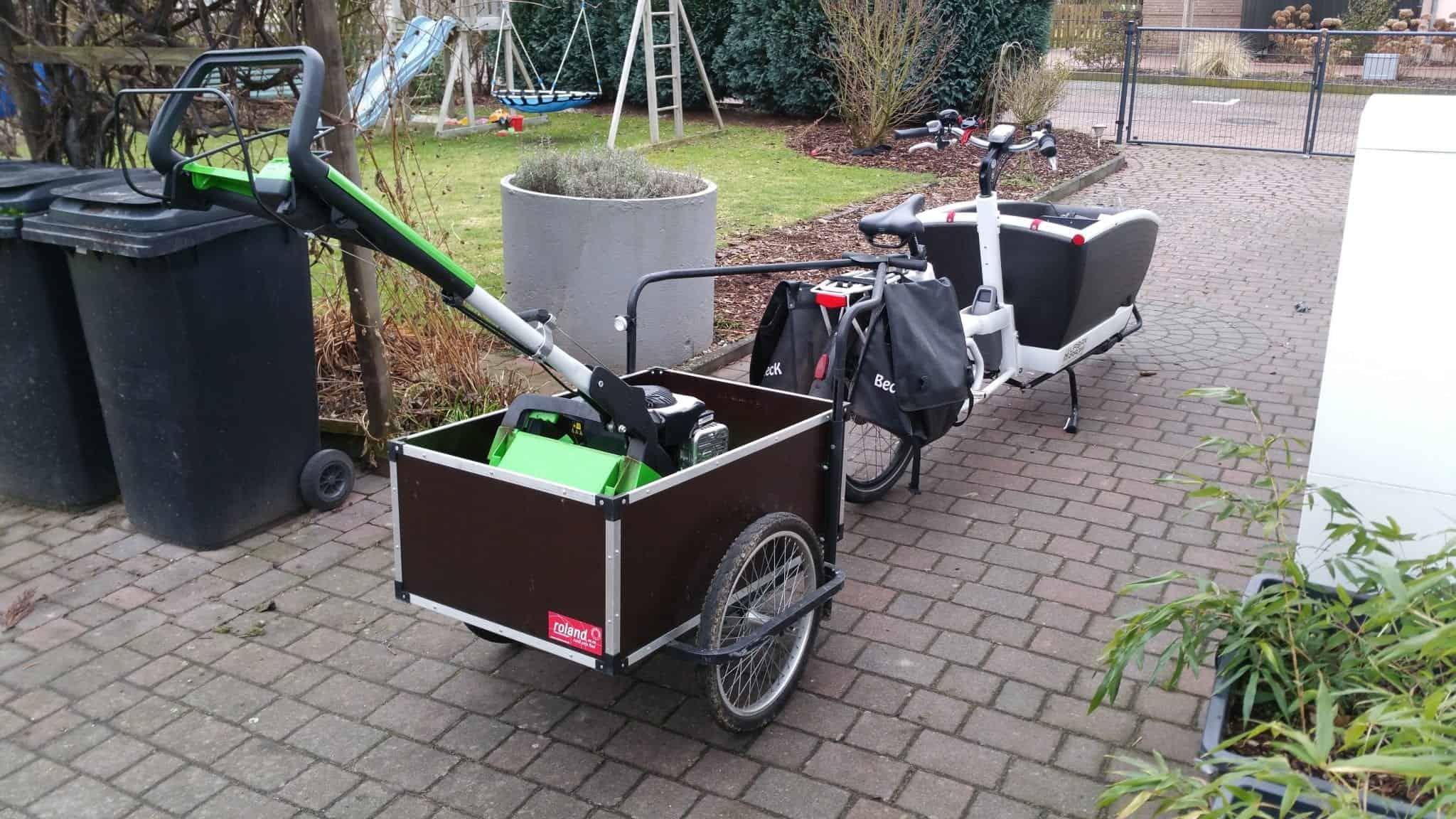 Lastenrad Zweirad oder Dreirad