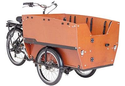 Babboe Max-E Lastenrad für 6 Kinder