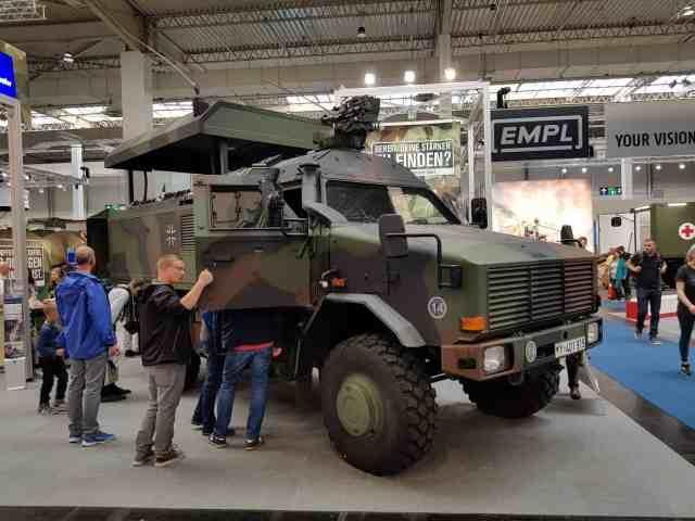 Bundeswehr auf der IAA 2018