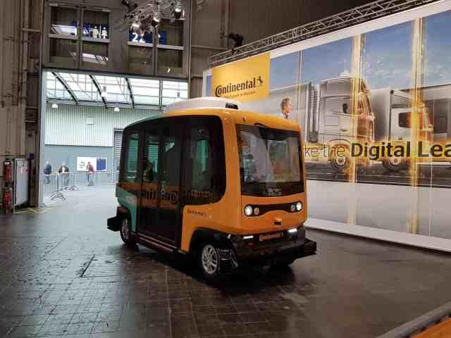Autonomer Buss IAA 2018 continental