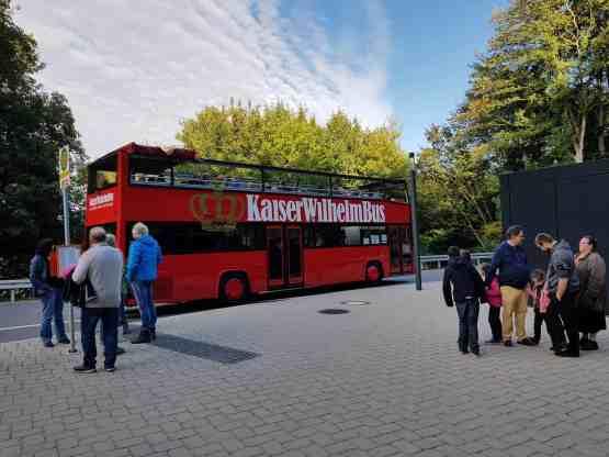 Kaiser Wilhelm Bus Minden Porta Doppeldecker Stadtrundführung