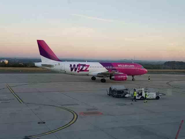 Flug nach Sibiu Airbus Wizz Air Wizzair dtm Dortmund Billigflieger rumänien
