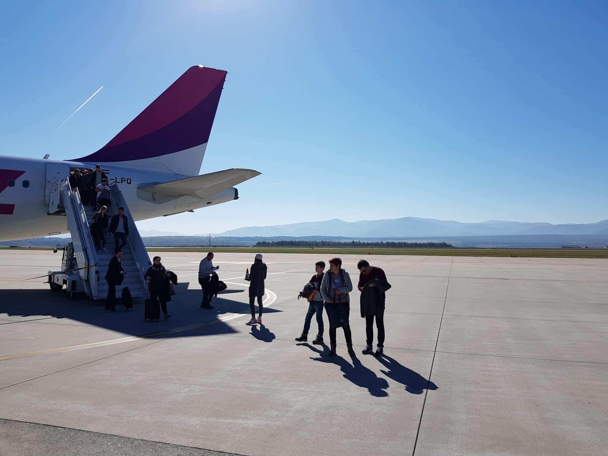 Flug nach Sibiu Airport DTM Dortmund Wizzair Wizz air Rumänien Romania