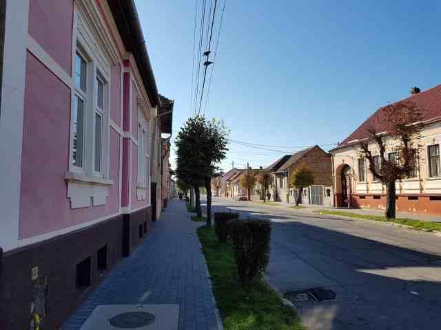 Fagaras Strada bahnhof centru
