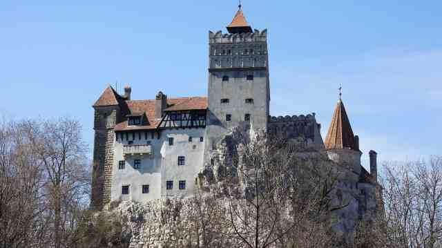 Schloss bran dracula transsilvanien rumänien