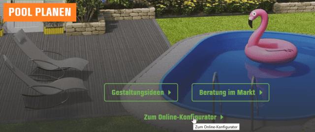 Obi Gartenplaner Pool