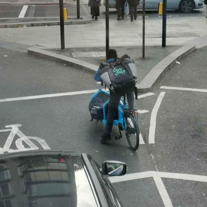 Lastenrad in London