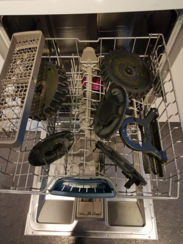 Mähroboter Spülmaschine