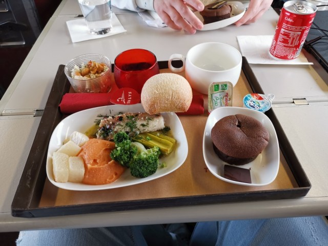 Lunch im Zug
