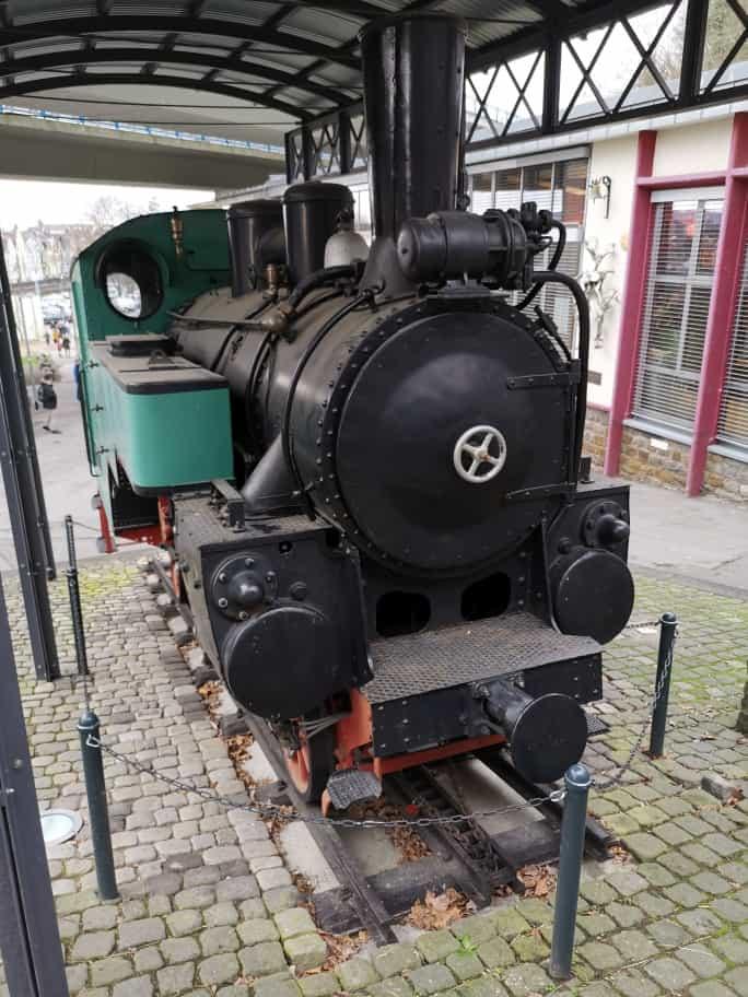 Zahnrad Dampflok