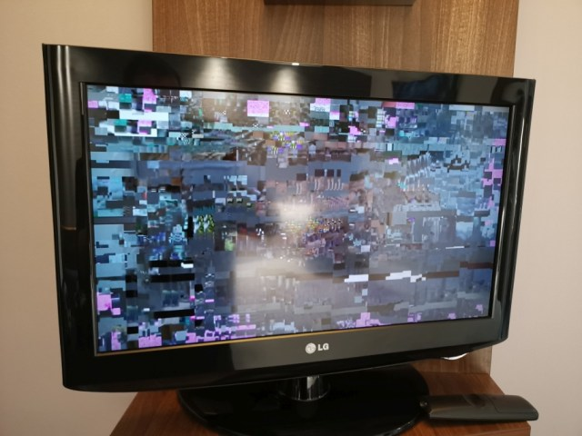 TV kaputt