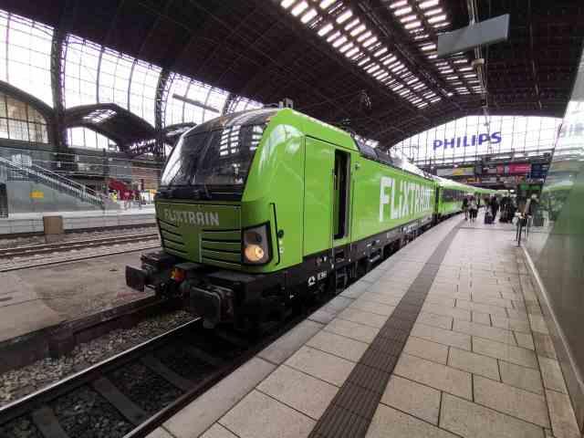 Flixtrain Hamburg Hauptbahnhof