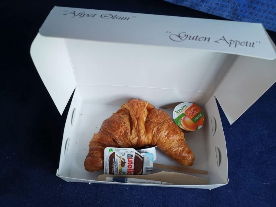 Alpen-Sylt Nachtexpress Frühstück