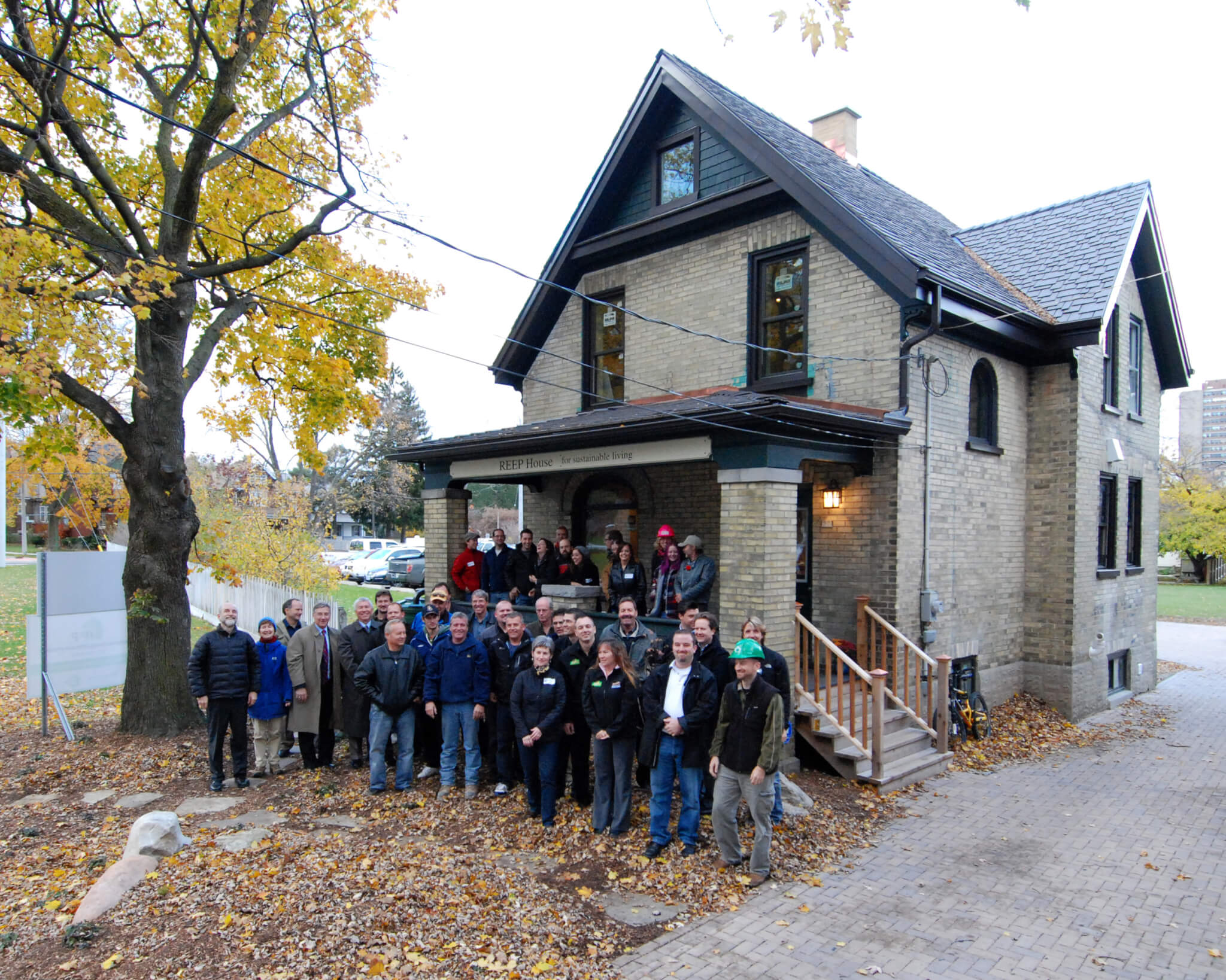 Community Action Reep House For Sustainable Living Reep