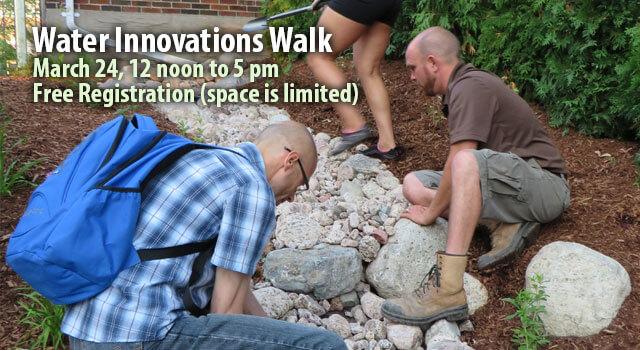 Water Innovations Walk Registration