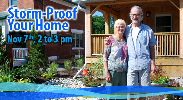 Storm-Proof Your Home: Nov 7, 2pm to 3pm
