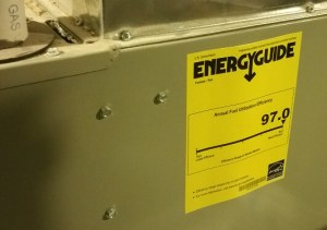 furnace Energyguide label
