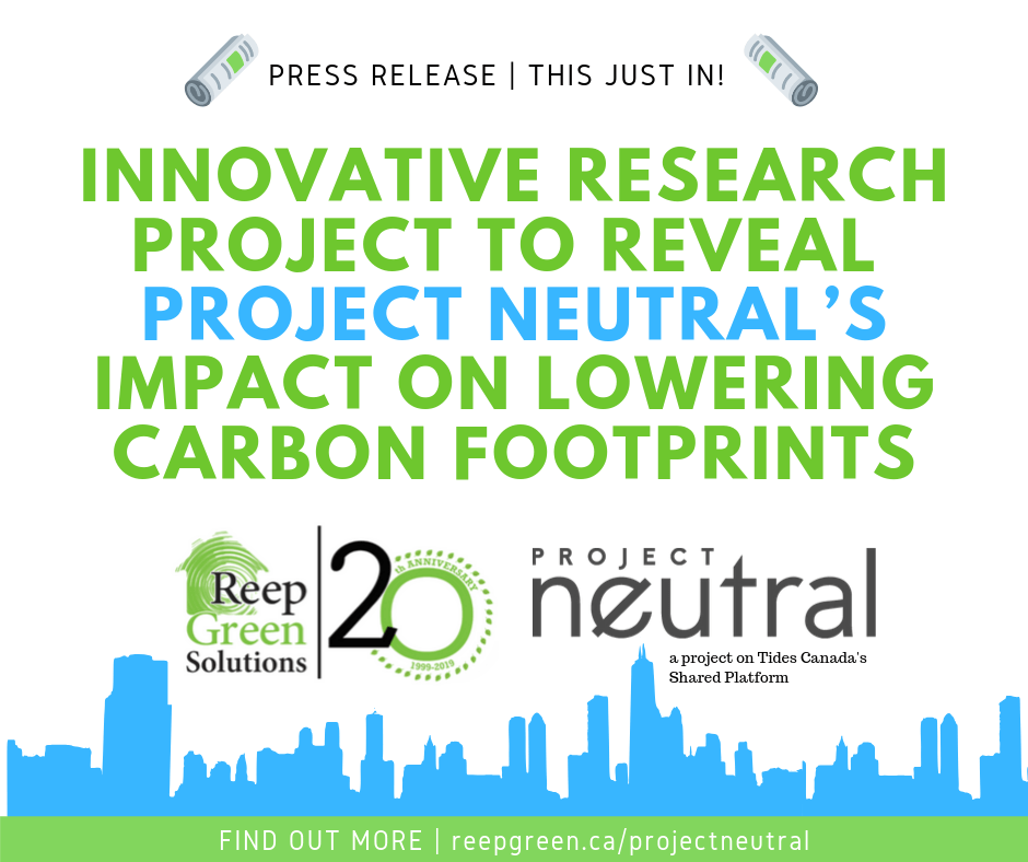 Innovative Research Project to Reveal Project Neutral's Impact on Lowering Carbon Footprints