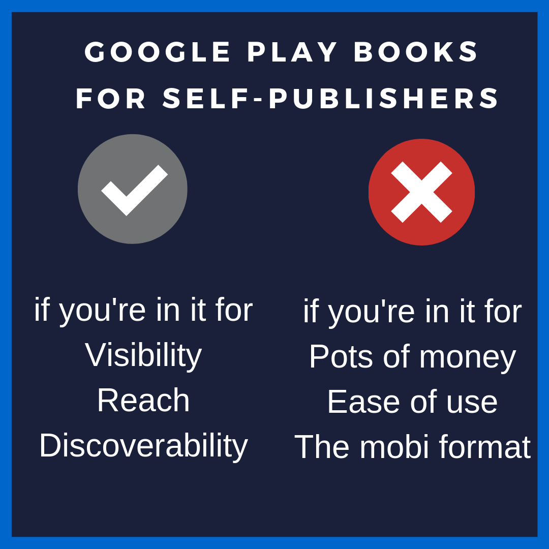 Google Play Books for self-publishing authors – Reet Singh