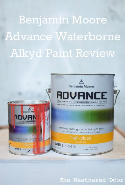 Benjamin Moore Advance Waterborne Alkyd Paint Review- pros and cons WD-8