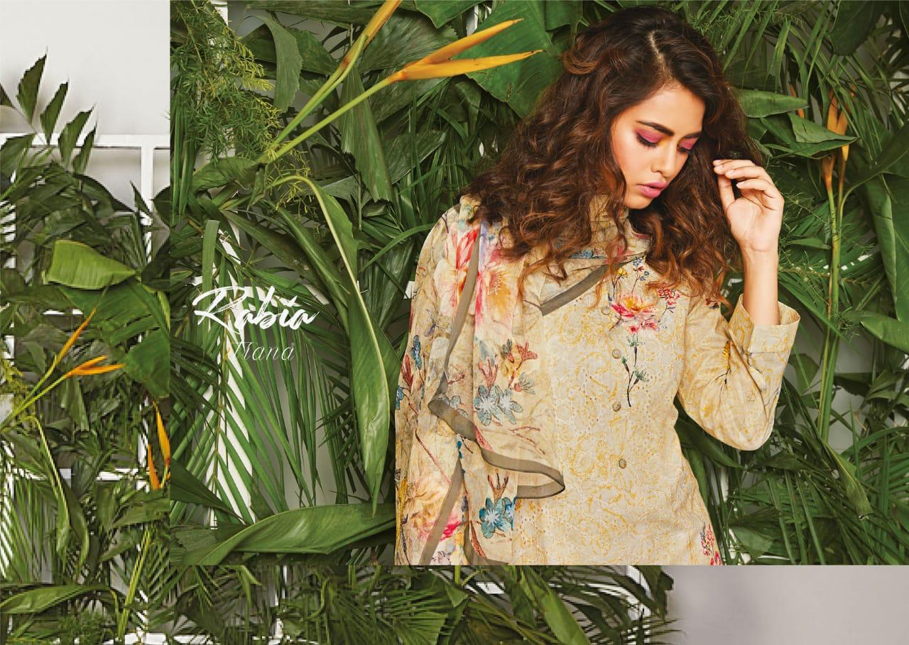 42a8737036 ITRANA RABIA COTTON EMBROIDERED PRINTED LADIES SUITS - Reewaz ...